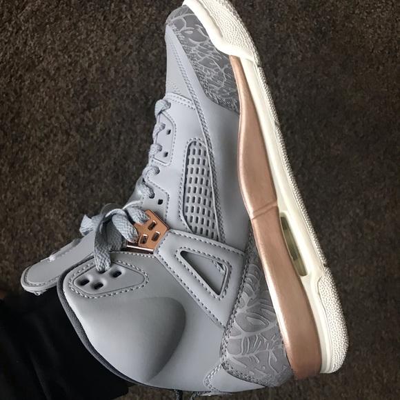 Jordan Shoes | Greyrose Gold Jordan